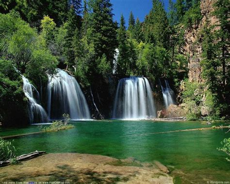 Wallpaper Of Waterfall by Pictures Mountain Waterfalls Wallpapers