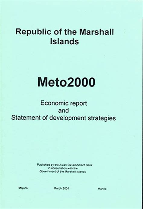 Examines the Republic of the Marshall Islands (RMI). Title ...