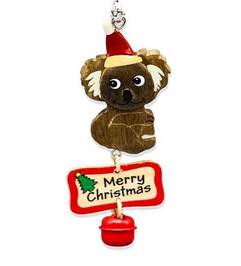 koala bell christmas decoration australia  gift