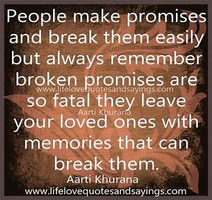 Life Quotes: Quotes About Promises In Love ~ Mactoons ...