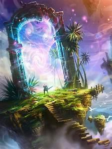 Fantasy Portal HD Wallpaper M9Themes