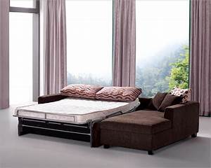 Sectional, Sofa, Set, With, Sleeper, Sofa, And, Storage, Chaise, 33ls121