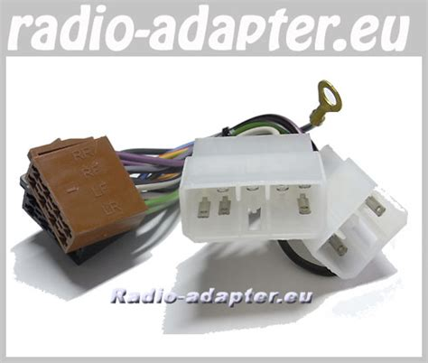 mitsubishi colt 1984 1996 car stereo wiring harness iso lead car hifi radio adapter eu