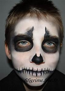Maquillage Halloween Garcon : maquillage garcon halloween facile ~ Melissatoandfro.com Idées de Décoration