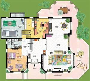 document non trouve erreur 404 faire construire sa maison With toit en verre maison 9 vaste maison familiale detail du plan de vaste maison