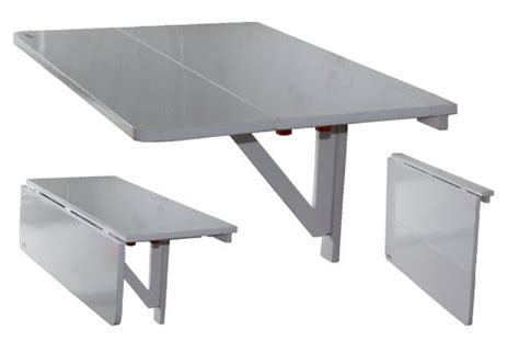 la table murale pliante pour un gain de place optimale