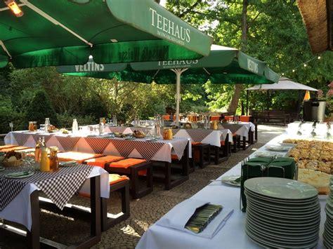 Englischer Garten Berlin Restaurant teehaus im englischen garten berlin tiergarten restaurant