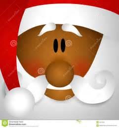 African American Santa Claus Clip Art