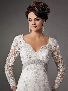 35 wedding gowns with sleeves With lace sleeve wedding dresses