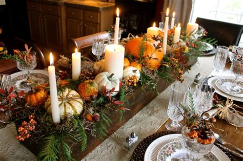 decorate  thanksgiving table   wow