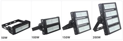 high power smd adjustable outdoor led wall mount security flood lights 150 watt