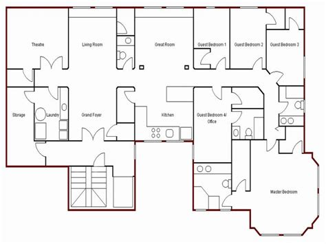 create simple floor plan draw your own floor plan easy