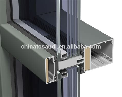 easy and quickly installation nice price unitized glass