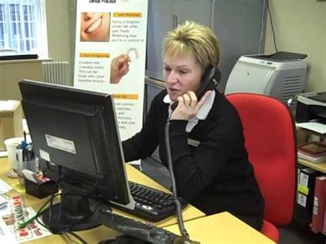 jacky the caring dental receptionist youtube