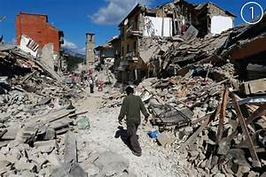 Damage Maps Reveal Extent Of Destruction From Italy