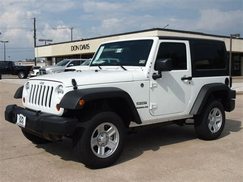 suv jeep white jeep wrangler unlimited 2012 white suv sport gasoline 6