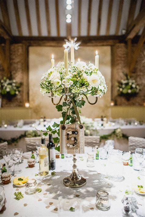 Decorating Ideas For Table Centrepiece by Best 25 Candelabra Wedding Centerpieces Ideas On