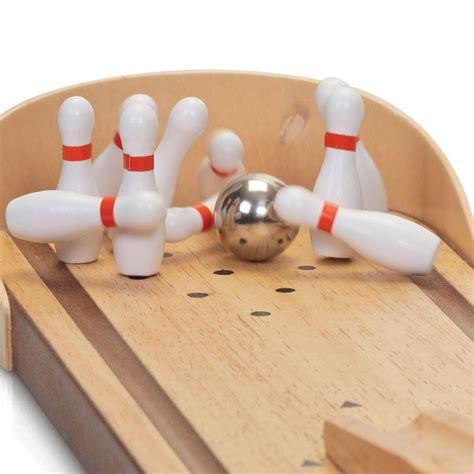 jeu de bureau jeu de bowling en bois achat jeu original de bureau sur