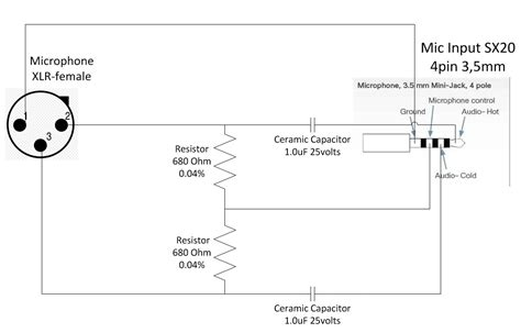 microphone cable wiring diagram roc grp org