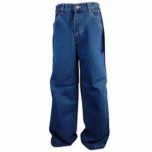 Boys Kickflip Denim Jeans Skater Baggy Kids Junior Jean ...