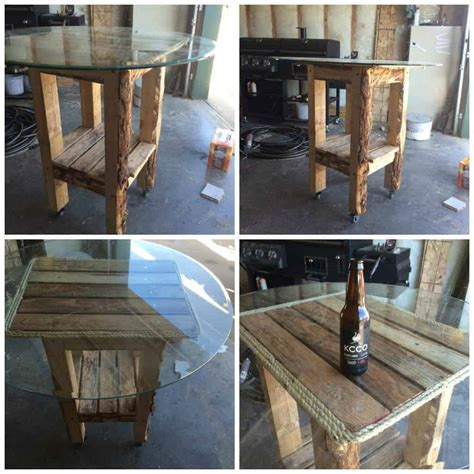 Bar Table Made Out Of Recycled Pallets ? 1001 Pallets