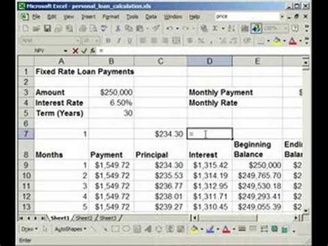 amortization table excel variable interest rate review