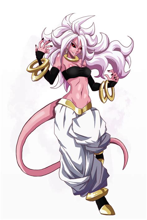 New Best Girl  Android 21 By Chame On Deviantart