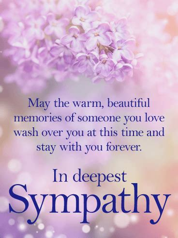stay    sympathy card birthday