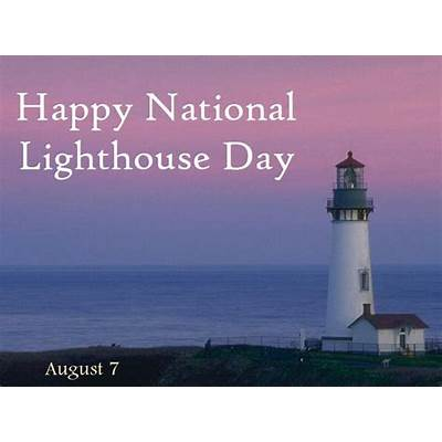Happy Lighthouse Day !Lighthouses & Ships #3