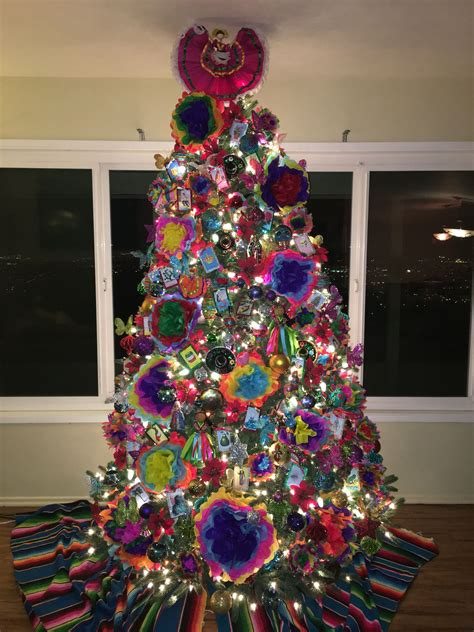mexican themed christmas tree christmas pinterest