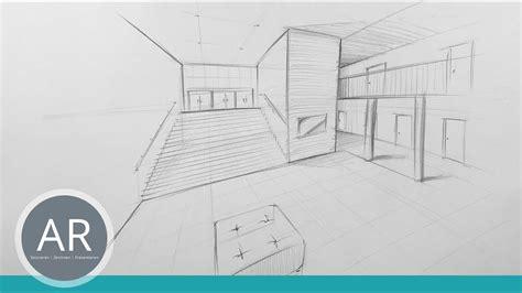 Perspektivisch Zeichnen Lernen by Einfach Perspektivisch Zeichnen Lernen Zwei Punkt