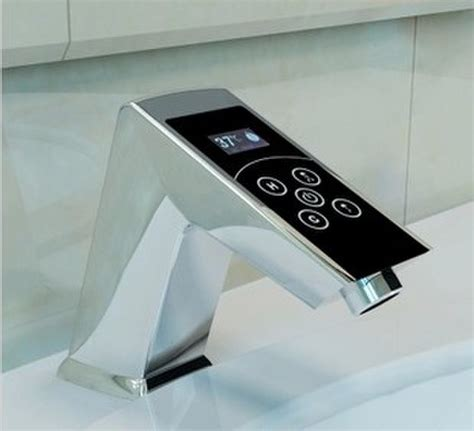 Cutting Edge Electronic Digital Touch Faucet Smart Sink