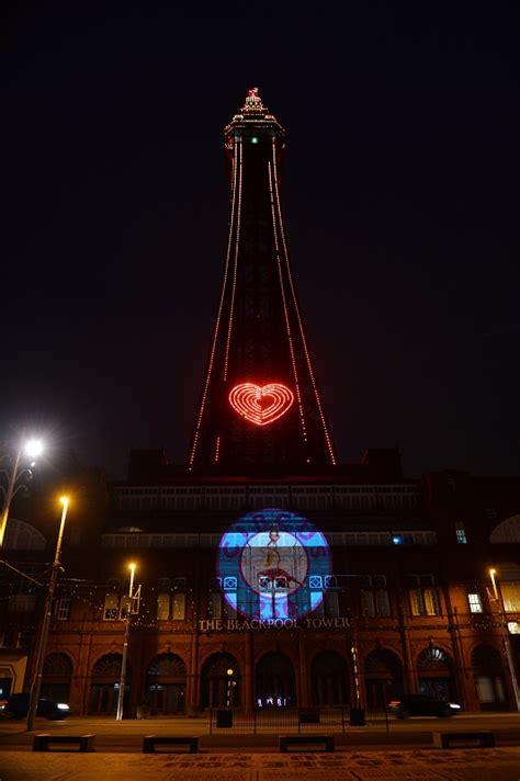 blackpool tower illuminated  circus blackpool