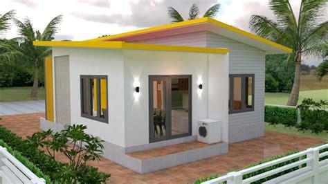 Small Modern House Design 7 5x11 Meter 25x36 Feet Pro