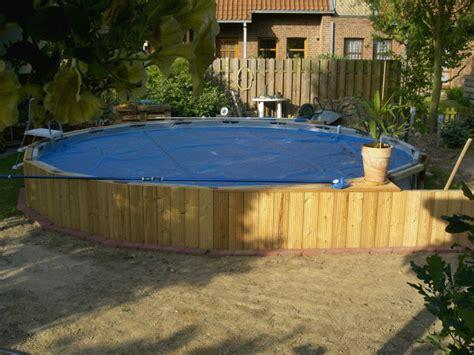 Pool In Erde Einbauen by Intex Frame Pool In Erde Einlassen Cer Outdoor