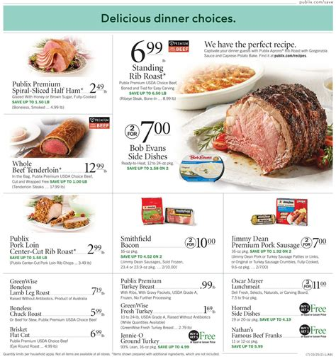 Make this easter dinner the best yet. Publix - Easter 2021 Ad Ad Circular - 03/25 - 04/03/2021 (Page 7) | Rabato