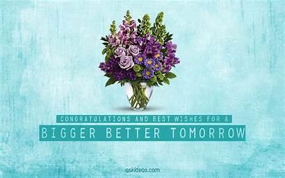 Wishes Congratulations Messages Tomorrow Better Congrats Bigger