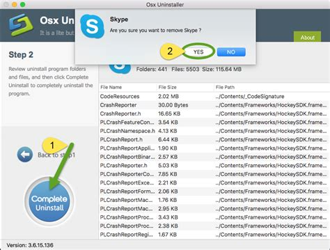 effective way to uninstall skype application on mac