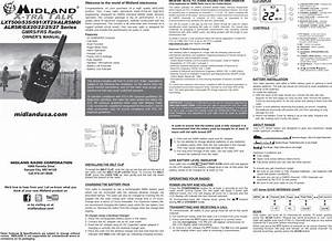 Midland Radio Lxt535pa Gmrs    Frs User Manual Lxt500 Owner