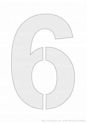 printable number stencils  painting  printables