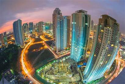 Makati Ayala Skyscrapers Buildings Philippines Fdi Asia