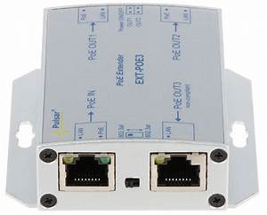 Extender Ethernet Poe Ext-poe3 Pulsar - Other Devices