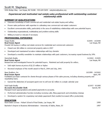 What Do You Write In A Resume Profile by How To Write A Resume