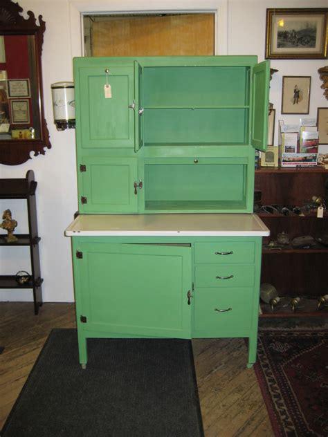 hoosier style vintage kitchen cabinets  antique
