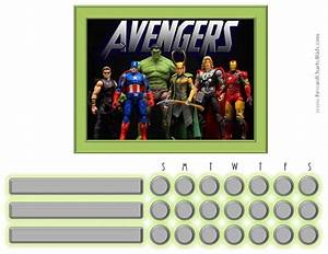 free printable potty chart marvel avengers charts customizable printable free
