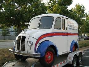Early history of the delivery van and meaning of th eterm ...
