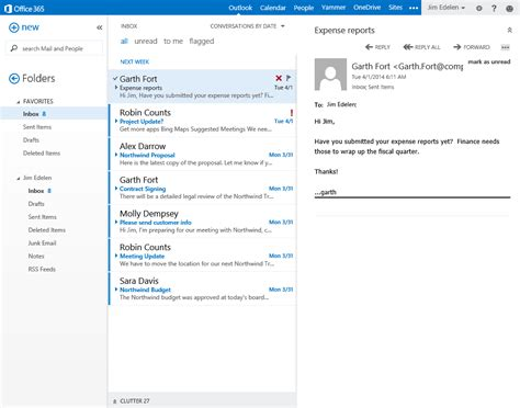 Office 365 Mail by The Evolution Of Email Microsoft 365
