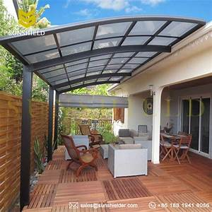 Polycarboante Patio Cover Aluminum Patio Awning Sunshield