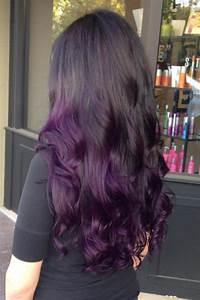 Dark Purple Ombre Hair Color | newhairstylesformen2014.com
