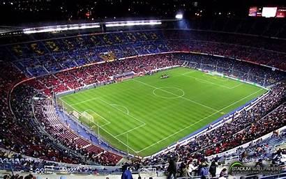 Soccer Field Barcelona Football Nou Camp Europe
